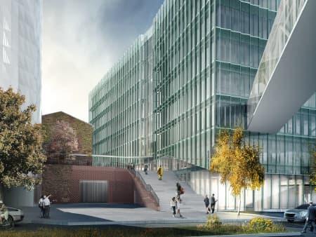 Biomedicum, Solna, Medicinskt laboratorium